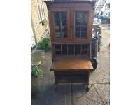 Antique vintage oak sideboard