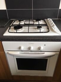 Indesit, intergrated hob and oven