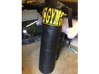 golds gym punch bag was once used by steven ray