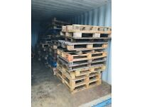 Varietiy of pallets for sale at £1 each. Proceeds go to charity.
