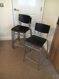 Set of 4 kitchen barstools