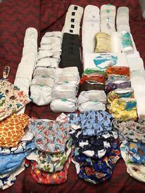 Huge reusable nappy bundle