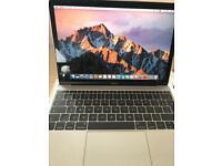 "MacBook 12"" notebook A1534 model like new"