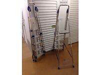 2 Aluminium Step Ladders