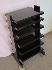 HiFi Tower Rack by respected audio furniture manufacturer Sound Organisation Model Z560 Black