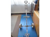 Golf Trolley / Cart - Trolley Master in Silver - No defects or damage - Good Condition.