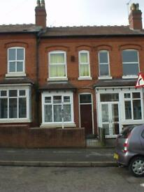 2 BEDROOM HOUSE TO LET IN EDGBASTON RE FURBISHED – KITCHEN & BATHROOM