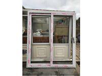 Upvc white sliding door approx 1760 x 2100
