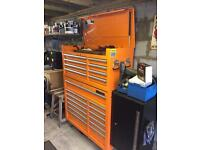 tool box and tools