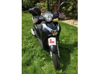 Honda SH MODE 125cc, black, 2015, comes fitted with accessories, £1850