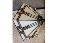 Tiffany Ceiling Light - Excellent condition
