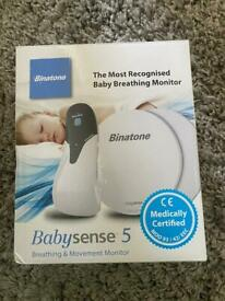 PRICE DROP Baby sense 5 baby breathing monitor