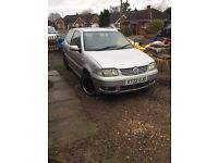 2000 vw polo 1.4 16v petrol hatchback manual in silver
