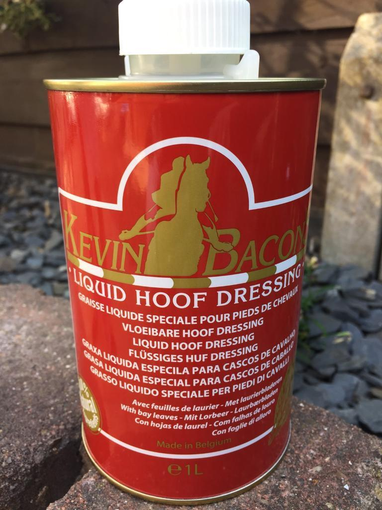 New Kevin Bacon liquid hoof dressing