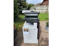 Commercial office printer copier scanner labelling, A3 A4 colour laser MFD SAMSUNG 9301.