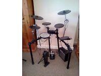 Roland Electric Drum Kit - Like New - TD-4K