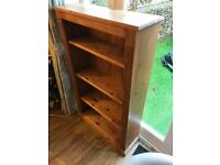 Classic Stained Pine Bookcase
