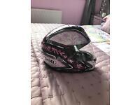 Ladies xxs motorcycle helmet.