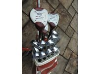 Golf Clubs, Bag, Trolley and Accessories