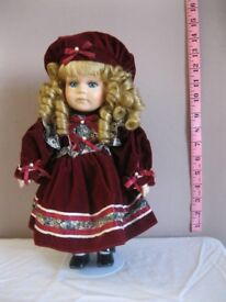 Collectable Porcelain Doll Leonardo Collection - Karen (Doll19)