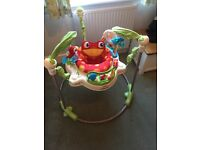 Rainforest baby jumperoo