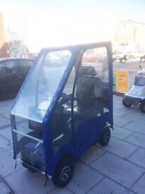 Mobility Scooter Van Os Excel Excite 4 'Galaxy' – With Rain Canopy