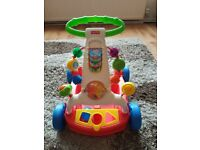 Fisher price baby walker / pull along wagon