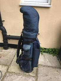 Full set of golf clubs with bag - Hippo