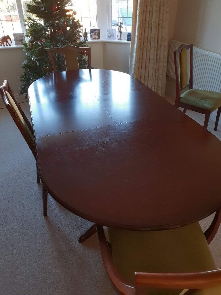 Solid Mahogany Dining Table Hollywood