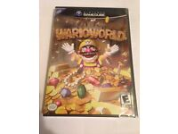 WARIOWORLD FOR GAMECUBE SEALED NEW NTSC VERSION