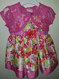 Beautiful Party Dress 12mts Ex Cond