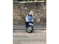 Vespa 50cc Blue