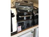 Beko built in double oven new 12 month gtee