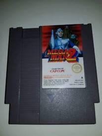 Mega men 2 game for NES