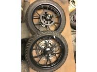 Aprilla rs4 50/125cc complete wheels