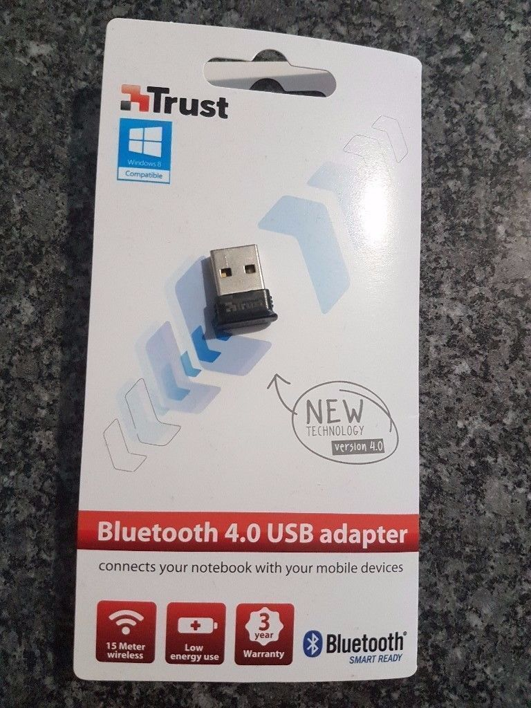 Trust Bluetooth 4 0 USB Dongle for PC, Laptop - Black | in Stockport,  Manchester | Gumtree