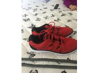 brand new mens karrimor trainers size 12 colour red with black