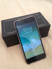 Iphone 7 - 128 GB - Jet Black - 02 - Giff gaff - Tesco - Boxed