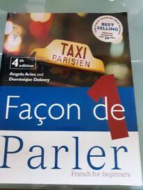 Façon de Parler french for beginners book