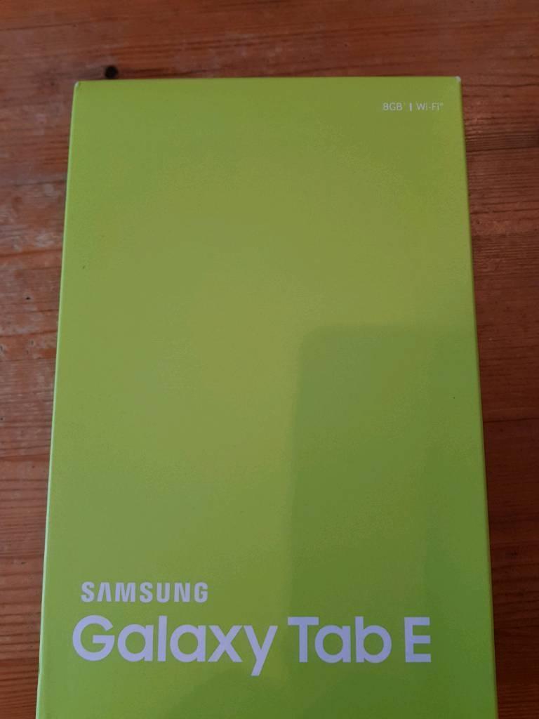 Galaxy Tab E (BLACK)