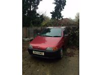 Fiat Punto 1.2 (1998) Spare or Repair Handbrake cable and new battery required