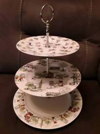 Kath Kidston Billie Goes To Town 3 tier Cake Stand