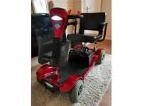 STERLING SAPPHIRE 2 MIDI SIZED CAR BOOT MOBILITY SCOOTER IN ATTRACTIVE CONDITION £320