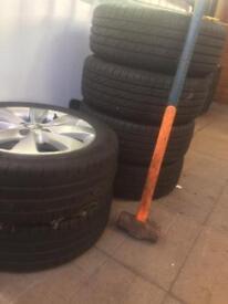 Vauxhall Corsa 2012 wheels