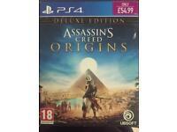 Assassins creed origins -Deluxe edition