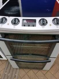 Zanussi electric fan assistant oven cooker ceramic top warranty n free delivery n connect it