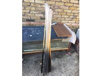 Snooker Cue set and Lifesize table