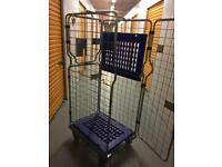 Trolley cage closes and opens free delivery locally storage