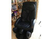 Sanyo electric massage chair; high quality, perfect working order; some external wear and tear