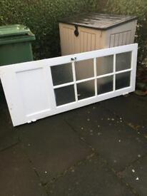 White Glazed Internal Door